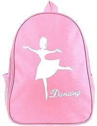 iEFiEL Niña Pequeña Mochila con Estampado Bolsa de Baile Mochila Infantil  Ballet Deportivo Viaje f40c515f01c53
