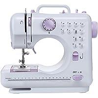 Máquina de coser -12 tipos de puntadas, pedal eléctrico de doble uso, función