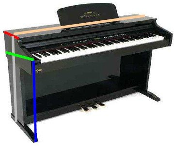 FUNDA PIANO DIGITAL CLAVINOVA CVP-605 10MM NEGRO