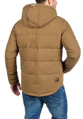 SOLID Dry Herren Jacke Kapuzenjacke Steppjacke aus hochwertiger Materialqualität Cinnamon (5056)