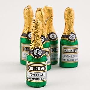 Mini Milk Chocolate Champagne Bottles x25