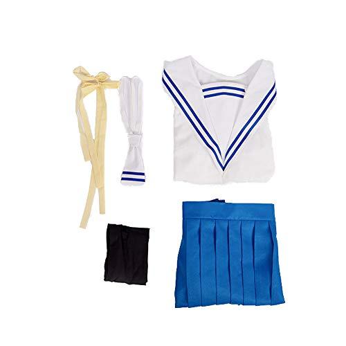Glam Cos Fruits Basket - Tohru Honda Cosplay Kostüm für Damen - Weiß - Medium (Fruits Basket Cosplay Kostüme)