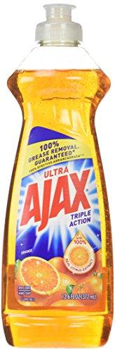 Ajax Triple Action Dish Liquid Orange