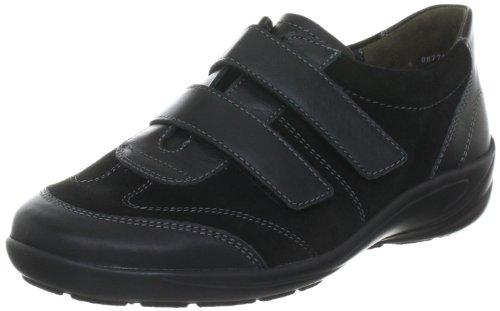 Semler Xenia, Zapatos de Cordones Brogue para Mujer, Negro (Schwarz 001), 39.5 EU