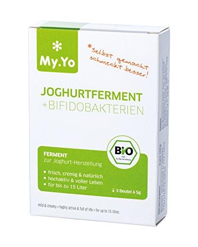 Bio Joghurtferment + Bifidobakterien von My.Yo, 3 Beutel