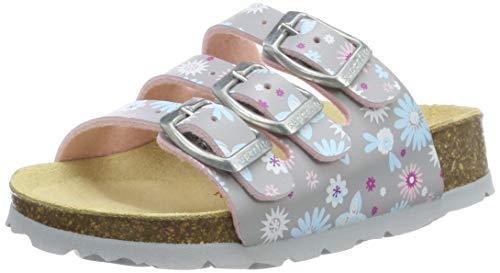 Superfit Mädchen Fussbettpantoffel' Pantoffeln, Grau 20, 30 EU