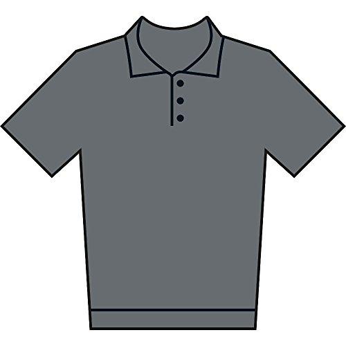 Gildan Ladies Premium Double Pique Sport Shirt Gris - Gris foncé