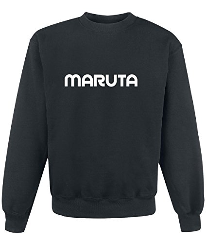 Felpa Maruta - Print Your Name Black