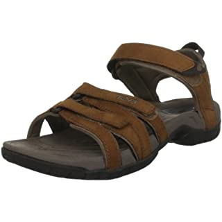 Teva Women's Tirra Leather Sports and Outdoor Lifestyle Sandal, Brown (Rustique Rust), 4 UK (37 EU)