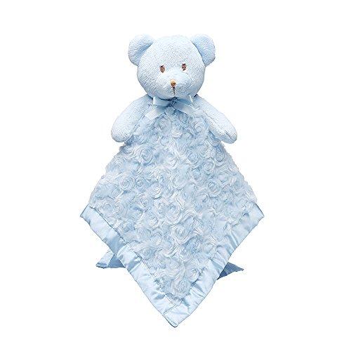 pro goleem junge und mädchen Schnuffeltücher Trösterchen Bär Decke blau