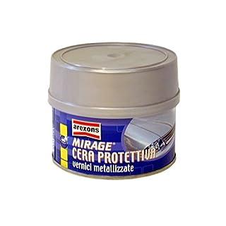 AREXONS 0190160Pack Mirage Wax Metal, White Cream, 250ml