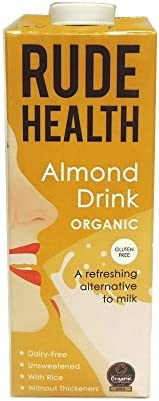 Rude Health Ultimate Almond Longlife Unsweetened Drink 1L