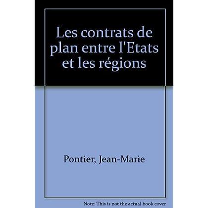 Les Contrats de plan entre l'État et les régions