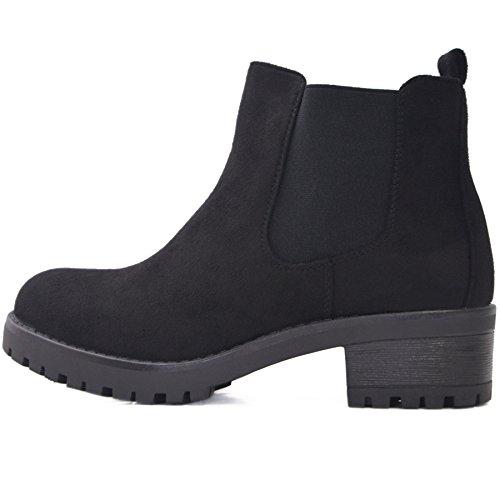 2aa248e0bf49ba Kayla Shoes© Chelsea Boots Stiefelette in Schwarz oder Braun (39