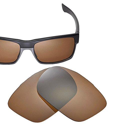 Cofery Ersatzgläser für Oakley TwoFace Sonnenbrille - Verschiedene Optionen erhältlich, Unisex, Brown - Polarized, Einheitsgröße