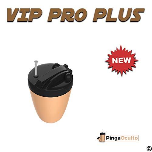 ✅【NUEVO MODELO PINGA VIP PRO PLUS 2019】💥 El Pinga Vip Pro Plus incorpora mejoras de autonomía y diseño con respecto a la anterior versión. Perfecto para su uso en exámenes por su discreción y facilidad de uso. Se conecta a su Smartphone o MP3 mediant...