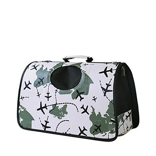 WJDM Tragbare Pet Träger Welpen Hund Katze Im Freien Reise Schulter Tasche für Kleine Hund Haustiere Weiche Hundehütte Pet Träger TascheFlugzeug 47 x 20 x 29 cm -