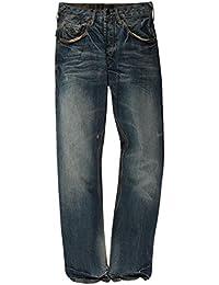 Denham - Jeans - Homme bleu bleu foncé