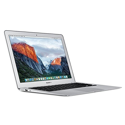 Apple MQD32ZE/A 33,78 cm (13,3 Zoll) Laptop Notebook (Intel Core i5, 8GB RAM, Mac OS X, QWERTY (UK keyboard)) silber (Apple Macbook Air I5)