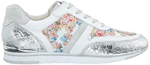 Gabor Fashion, Sneakers Basses Femme Gris (argento/weiss/ice 61)