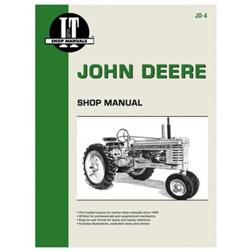 Haynes Bedienungsanleitungen jd-4I & T John Deere manuell