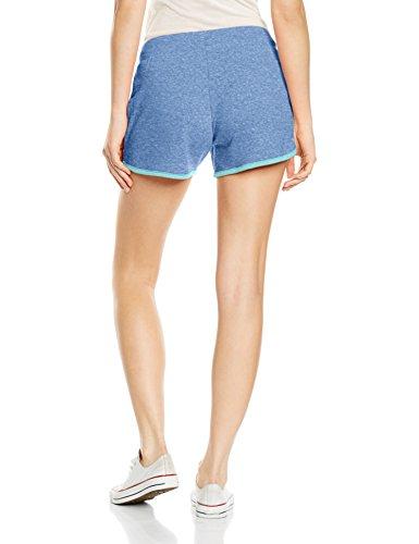 Intimuse Damen Sport Shorts Blau (hellblau Melange 083)