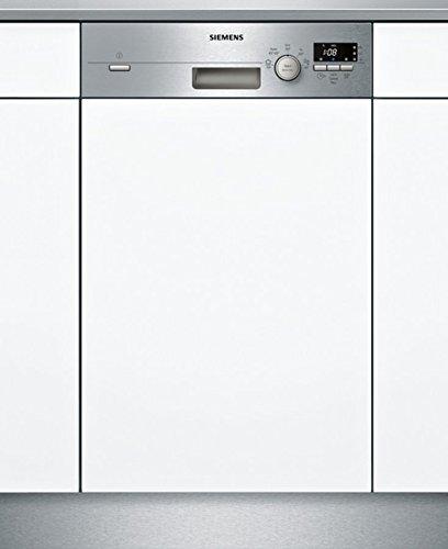Siemens SR515S03CE Geschirrspüler Teilintegriert / A+ / 220 kWh/Jahr / MGD / 2380 L/jahr / Edelstahl / DuoPower-Doppelsprüharm / DosierAssisten