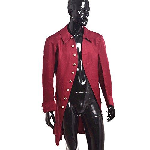 Kolonial Kostüm (BLESSUME Colonial Herren Mantel Kolonial Kostüm (L,)