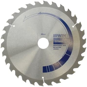 Irwin 10506816 - Lama per sega circolare circolare circolare multi-taglio, 30 denti, 235 x 30 mm | Vogue  | Facile da usare  | Nuovo design diverso  235f4e