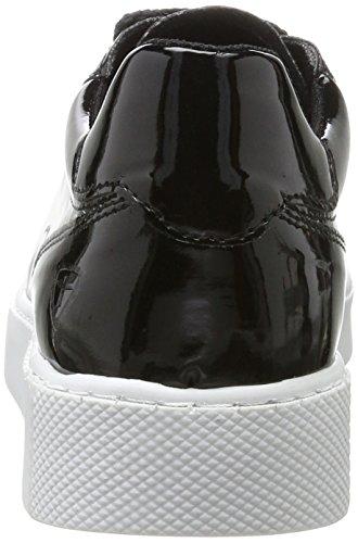 Tamaris 23672, Scarpe da Ginnastica Basse Donna Nero (Black Patent)