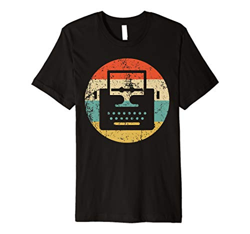 Vintage Retro Typewriter T-Shirt for men or women