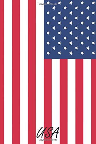 USA: (A5 | liniertes Paper | Soft Cover | 100 Seiten) (Lustig 2019 Kostüm Ideen)
