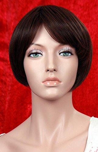 Wigs Women Short Brown (perruque)