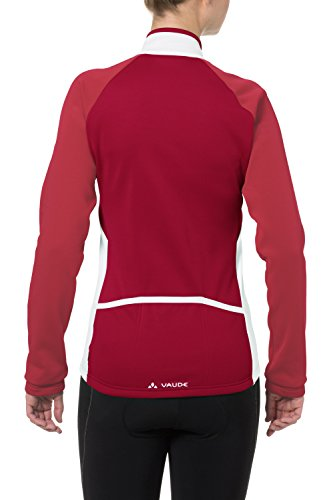 VAUDE Matera Ii Maillot Manches Longues Femme Indian Red