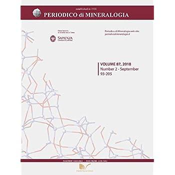 Periodico Di Mineralogia: 87