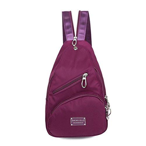 impermeabile petto Pack/Messenger bag casuale/Sport spalla zaino/[zaino]-A A