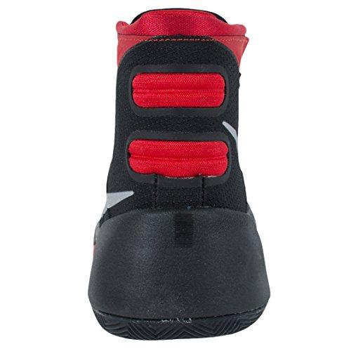 Nike Hyperdunk 2015 (Gs), Chaussures de Sport-Basketball Garçon Negro / Plateado (Black / Mtllc Silver-Unvrsty Rd)