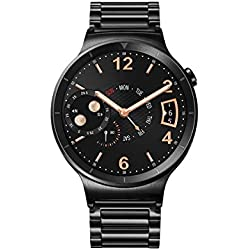 "Huawei Watch Active - Smartwatch Android (pantalla 1.4"", 4 GB, 512 MB RAM), correa de acero, color negro"