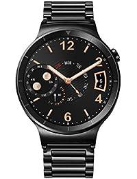 Huawei Watch Active mit Gliederarmband in schwarz