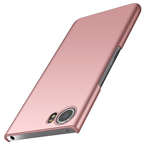 anccer BlackBerry Keyone Hülle, [Serie Matte] Elastische Schockabsorption und Ultra Thin Design für Keyone (Glattes Rosen-Gold)