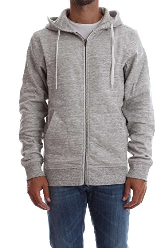 JACK & JONES Jorstorm Sweat Zip Hood Color Noos, Giacca Uomo Beige