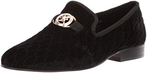 Stacy Adams Herren Slip-ON Loafer Valet, Velour Bit, Schlüpfhalbschuh mit Velours, schwarz, 45 EU Adams Loafer