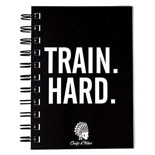 Chiefs & Tribes Diario per l'allenamento, per palestra, Body building e Cardio I 200pagine I robusto e pratico I DIN A6 (lingua tedesca)