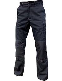 Pantalon de travail poches genoux TYPHON noir - 40-42, Noir