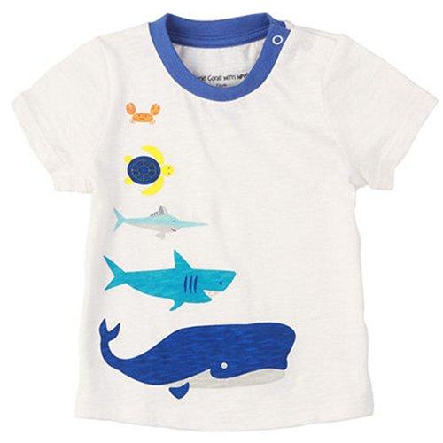 Sea World pur coton Infant Tee T-shirt pour bébé Blanc 73 cm (6-12 m)