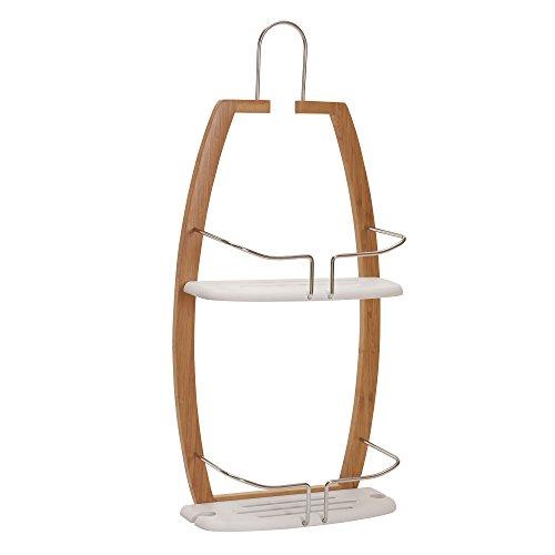 Edelstahl-select Türen (Haushalt Essentials 2445-1Elements Bambus Dusche Caddy)