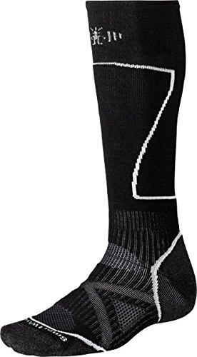 Smart Wool PhD Ski Medium black XL (EU 46-49)