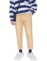 QitunC Trabajo Cargo Pantalones Hombres Cargo Pantalones Rectos Ocio Al Aire Libre