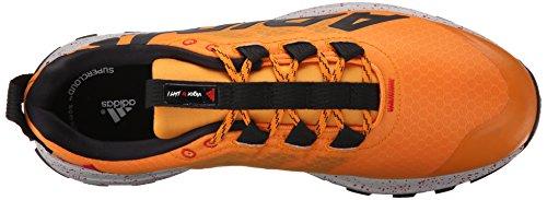 Adidas Performance Vigor 6 Tr M Running Shoe, noir / rouge / Gris clair, 6,5 M nous Orange/Black/Clear Onix Grey/Grey