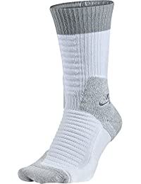 Nike Crew Socks Elite Skate 2.0 Calcetines, Hombre, Blanco/Gris (White Wolf